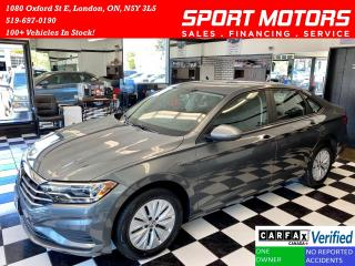 Used 2019 Volkswagen Jetta Comfortline+Apple Carplay+Camera+New Tires for sale in London, ON
