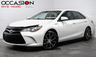 Used 2017 Toyota Camry HYBRID SE MAGS+SIEGES.CHAUFFANTS+BLUETOOTH for sale in Boisbriand, QC
