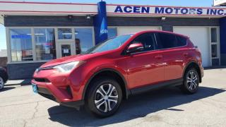 Used 2016 Toyota RAV4 AWD- RED ON BLACK INT. NO ACCIDENTS for sale in Hamilton, ON