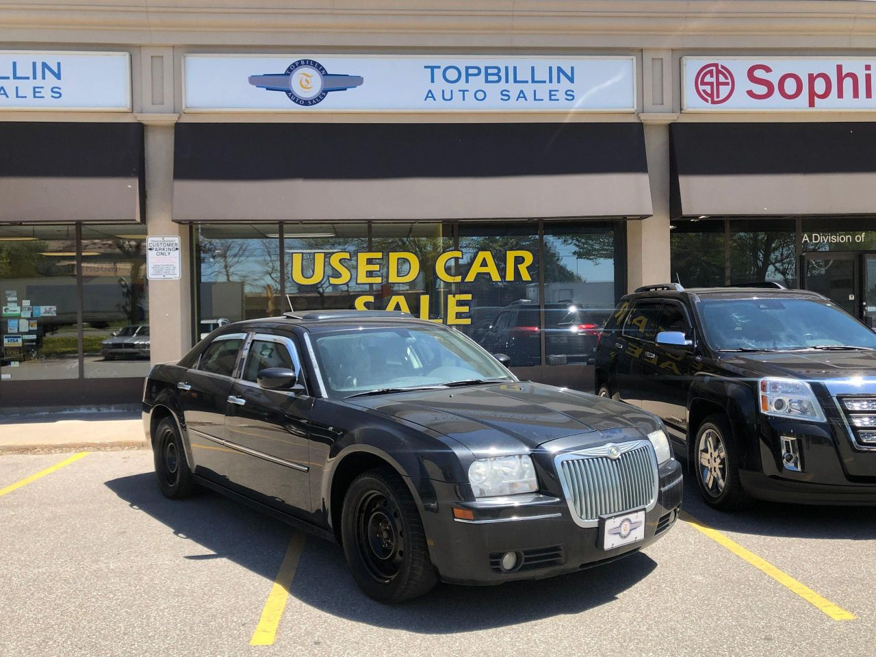 2008 Chrysler 300 Touring, Leather, Roof