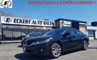 Used 2014 Honda Accord EX-L W/NAVI for sale in Barrie, ON