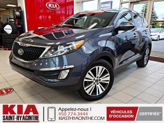Used 2014 Kia Sportage EX Luxe AWD ** NAVI / CUIR / TOIT for sale in St-Hyacinthe, QC