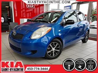 Used 2007 Toyota Yaris LE HB ** GR ÉLECTRIQUE + A/C for sale in St-Hyacinthe, QC