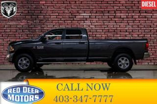 Used 2016 RAM 3500 4x4 Crew Cab SLT Longbox Diesel AISIN Leather for sale in Red Deer, AB
