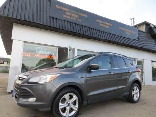 Used 2016 Ford Escape 4WD WITH LEATHER,OVERSIZED MEDIA SCREEN,BACK UP for sale in Mississauga, ON