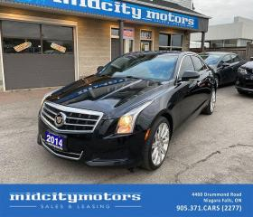 Used 2014 Cadillac ATS 2.0T Luxury AWD/ Certified/ Low KMs/ CLEAN CARFAX! for sale in Niagara Falls, ON
