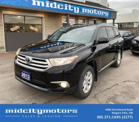 Used 2013 Toyota Highlander 7-Seating Capacity/ CERTIFIED! for sale in Niagara Falls, ON