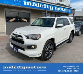 Used 2014 Toyota 4Runner LIMITED 4WD/ FULLY LOADED/ Certified/ NO ACCIDENTS for sale in Niagara Falls, ON