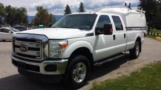 Used 2011 Ford F-350 SD XLT CREW CAB LONG BE for sale in West Kelowna, BC