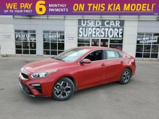 New 2020 Kia Forte EX IVT - Auto Emergency Braking, Lane Keep Assist for sale in Niagara Falls, ON