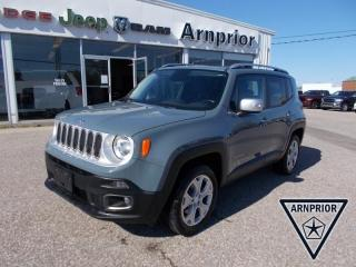 Used 2017 Jeep Renegade Limited for sale in Arnprior, ON