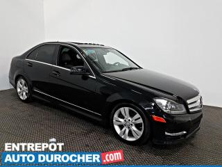 Used 2012 Mercedes-Benz C-Class C 300 AWD TOIT OUVRANT - A/C - Sièges Chauffants for sale in Laval, QC