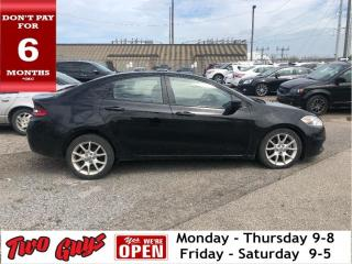 Used 2013 Dodge Dart Leather Navigation Sunroof Back Up Camera for sale in St Catharines, ON