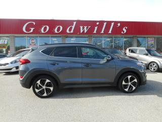 Used 2016 Hyundai Tucson LTD! HEATED LEATHER! NAV! SUNROOF! BLUETOOTH! for sale in Aylmer, ON