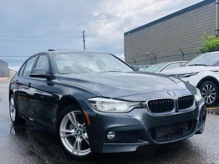 Used 2017 BMW 3 Series |330i XDRIVE|HEATED MEMORY SEATS|NAVI|SUN ROOF|WOOD TRIM! for sale in Brampton, ON