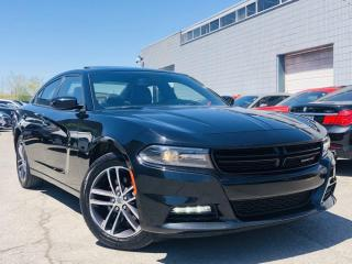 Used 2019 Dodge Charger |SXT AWD|COOLING MEMORY SEAT|SUN ROOF|NAVI|LEATHER|REAR CAM! for sale in Brampton, ON
