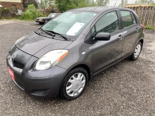 Used 2011 Toyota Yaris 5dr HB, LE, dealer serviced, no accidents for sale in Halton Hills, ON