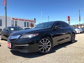 Used 2016 Acura TLX V6 Tech AWD - Navigation - Leather -  Sunroof for sale in Mississauga, ON