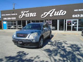 Used 2008 GMC Acadia AWD  SLT1, DVD for sale in Scarborough, ON