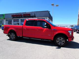 Used 2015 Ford F-150 XLT SuperCrew 4WD 3.5L Ecoboost CAMERA CERTIFIED for sale in Milton, ON