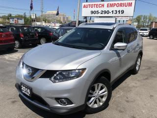 Used 2016 Nissan Rogue SV AWD Family Tech 7-Pass/Navi/Sunroof/360 Camera for sale in Mississauga, ON