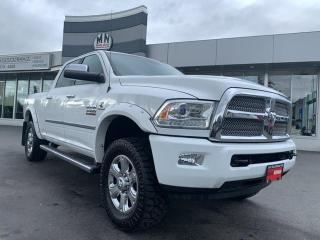 Used 2014 RAM 3500 Longhorn Limited 4WD DIESEL TUNED DELETED NAVI SUN for sale in Langley, BC