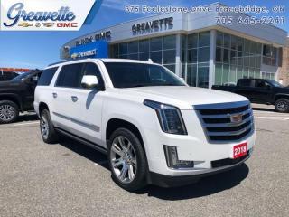 Used 2018 Cadillac Escalade ESV Premium Luxury  -  Navigation for sale in Bracebridge, ON