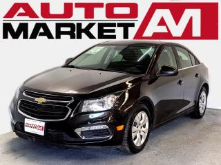 Used 2016 Chevrolet Cruze Certified!Touchscreen!WeApproveAllCredit! for sale in Guelph, ON