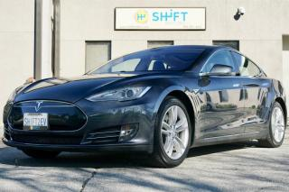 Used 2014 Tesla Model S 85 REAR WHEEL DRIVE, REAR FACING SEATS, CARFAX CLEAN! for sale in Burlington, ON