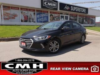 Used 2018 Hyundai Elantra GL Auto  CAM HS BT ALLOYS APPLE-CAR-PLAY for sale in St. Catharines, ON