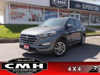 Used 2016 Hyundai Tucson 2.0L Premium AWD  AWD REAR-CAM HTD-STS BT 17-AL for sale in St. Catharines, ON