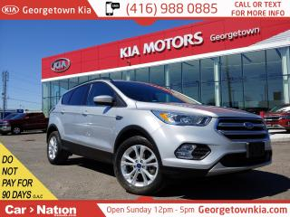 Used 2017 Ford Escape SE | 4WD | LEATHER| NAVI | BU CAM | ONLY 27,678KMS for sale in Georgetown, ON