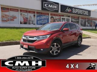Used 2017 Honda CR-V EX  AWD ROOF REAR-CAM HS BT P/SEAT 18-AL for sale in St. Catharines, ON