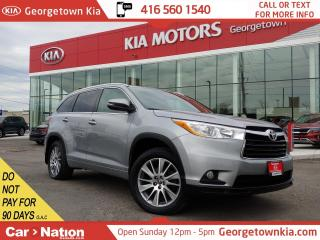 Used 2016 Toyota Highlander XLE AWD | LEATHER | NAVI | ROOF | 7 PASS | BU CAM for sale in Georgetown, ON