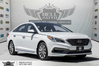 Used 2015 Hyundai Sonata 2.4L Sport Tech, NAVI, REAR CAM, B.SPOT, PANO ROOF for sale in Toronto, ON