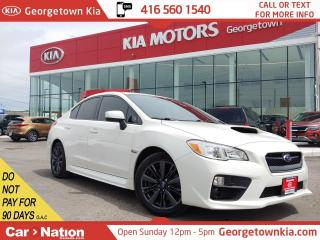 Used 2015 Subaru WRX AUTO | AWD | HEATED SEATS | B/U CAM | BLU TOOTH for sale in Georgetown, ON