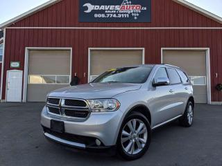 Used 2012 Dodge Durango Crew Plus Leather! AWD! Blue tooth! for sale in Dunnville, ON