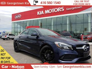 Used 2018 Mercedes-Benz CLA-Class CLA 250 4MATIC  LEATHER  NAVI   BU CAM   HTD SEATS for sale in Georgetown, ON