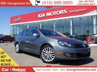 Used 2014 Volkswagen Golf Wagon TDI DSG Comfortline | LEATHER| PANO ROOF|HTD SEATS for sale in Georgetown, ON