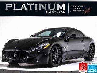 Used 2017 Maserati GranTurismo S, 4.7L V8, 454HP, NAV, CARBON FIBER, F1 PADDLE for sale in Toronto, ON