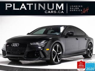 Used 2016 Audi RS 7 4.0T Quattro Prestige,NAV,360 CAM,HEADS UP DISPLAY for sale in Toronto, ON