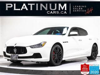 Used 2017 Maserati Ghibli S Q4,AWD,NAV,360CAM,HEATED/COOLED LEATHER SEATS, for sale in Toronto, ON