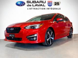 Used 2017 Subaru Impreza Sportech Tech Awd *Cuir,Toit,Nav* for sale in Laval, QC