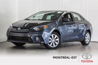 Used 2016 Toyota Corolla 4dr Sdn CVT LE CAM,BLUETOOTH for sale in Montréal, QC