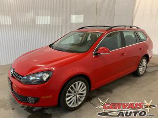 Used 2014 Volkswagen Golf Wagon TDI Wolfsburg GPS Cuir Toit Panoramique Mags for sale in Trois-Rivières, QC