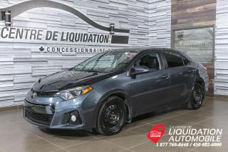 Used 2015 Toyota Corolla S+A/C+CAM/REC+BLUETOOTH for sale in Laval, QC