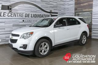 Used 2015 Chevrolet Equinox LS+AWD+MAGS 17PO+SIRIUS XM for sale in Laval, QC