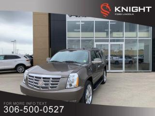 Used 2011 Cadillac Escalade LEATHER, SUNROOF, DVD, IMMACULATE, ONE OWNER TRADE!! for sale in Moose Jaw, SK
