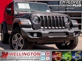 New 2020 Jeep Wrangler Sport S for sale in Guelph, ON