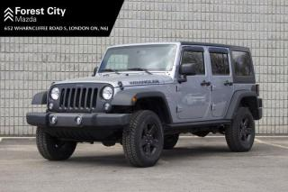 Used 2016 Jeep Wrangler Unlimited Sport,AUTOMATIC,4X4,AIR CONDITIONING for sale in London, ON